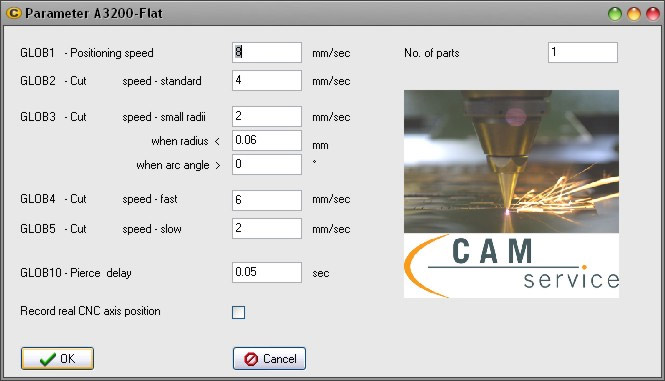 Features of the CAM software CAGILA - CAD data repair