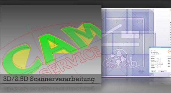 3D Scannerverarbeitung