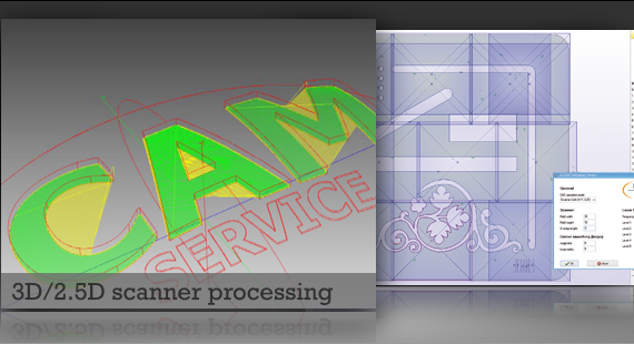 3D scanner processing