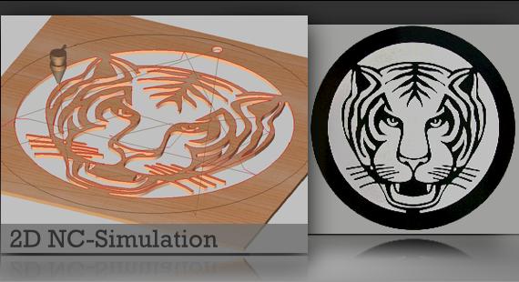 echte CNC-Simulation