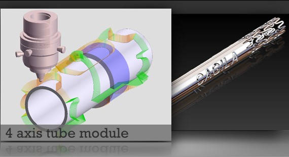4 axis tube module