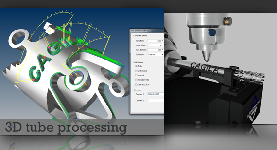 3D tube processing