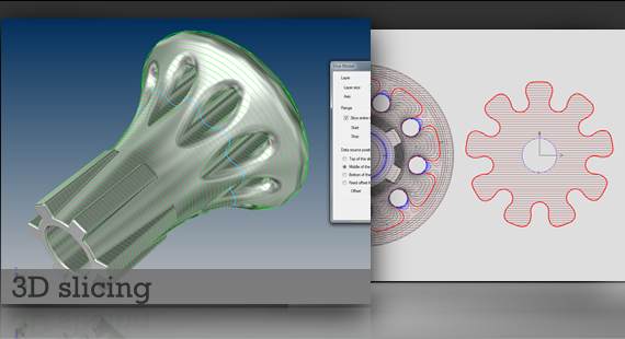 3D slicing