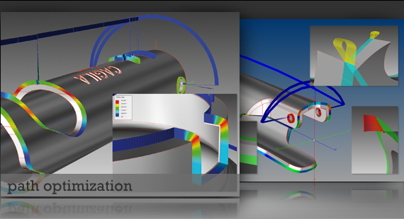 3D path optimization